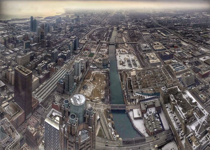 Winter Cold Weather January2016 Grey Sky Winterphotography Willistower View From Above Chicago Chicagoloop Architecture Lookingdown Aerial View Attempt at Panoramic Photography Cityscape Wide Shot EyeEm EyeEm Best Shots EyeEm Gallery Eyeemurban Picture Pictureoftheday Pic IPhone Amateurphotography