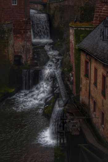 Saarburg Photography Vs. Depression Built Structure Waterfall Architecture Building Exterior Water Motion Long Exposure Power In Nature No People Outdoors