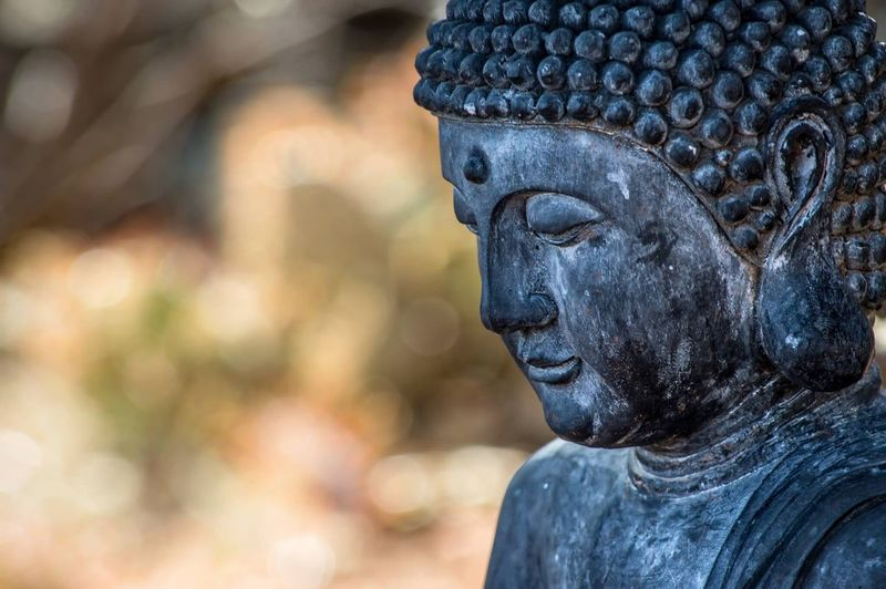 Spiritual Statue Statue Sculpture Religion Spirituality Focus On Foreground Human Representation No People Outdoors Day Close-up