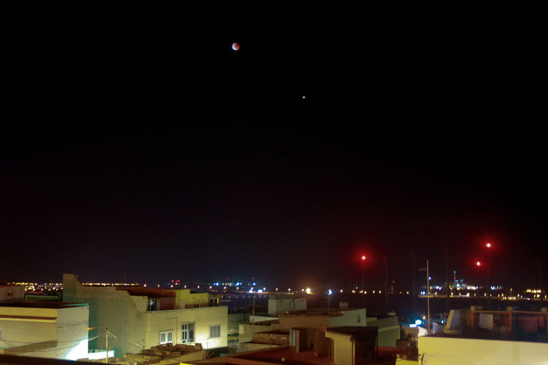 red moon City