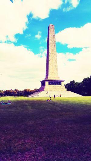 Dublin Ireland🍀 Monument Obelisk Wellington Monument