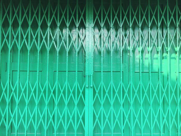 Full frame shot of a gate