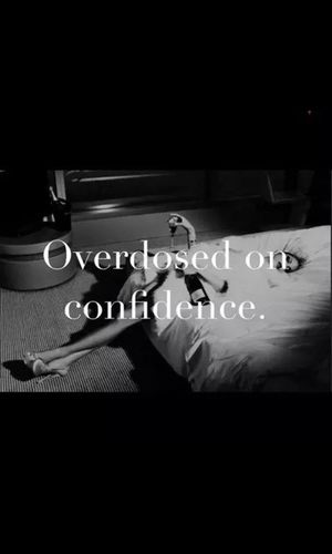 To much to say rn ?✊✌? Overdose Confidence Is... Bye ✌ Like ? ❤