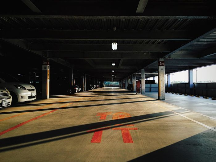 Japan Finding Parking IPSShadows IPS2015Symmetry Creative Light And Shadow Going The Distance