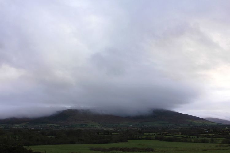 Kerry, Ireland. Mountain Top Sky Rain Thunderstorm Nature Landscape Outdoors Tree Social Issues Sky Cloud - Sky Storm Cloud No People Beauty In Nature Day