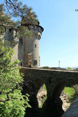 Gap Nature Kreuzenstein Castle Building Tourism Buildings History Travel Destinations Monument Austria Tourist Trip
