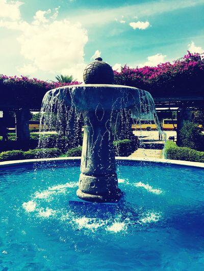SSN's fountain Water Fountain First Eyeem Photo