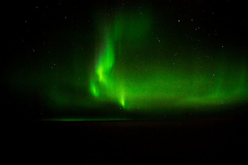 Aurora Borealis Astronomy Aurora Polaris Beauty In Nature Galaxy Green Color Illuminated Natural Phenomenon Nature Night No People Outdoors Scenics Sky Space Exploration Star - Space Tranquil Scene Tranquility