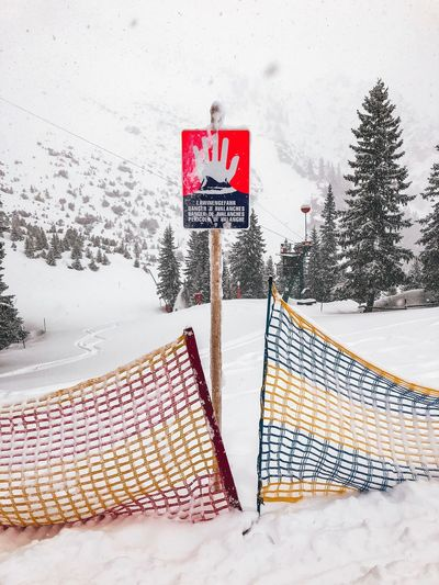 Danger zone Deadly Dangerous Danger Stop Barrier Sign Avalanche  Slope Snow Winter Cold Temperature Weather Day Outdoors One Person Snowing Nature Frozen