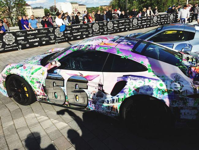 Gumball3000 Sportscar PaintJob Porsche Racing