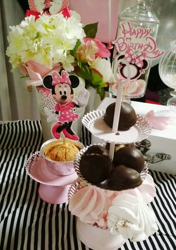 Birthday Present Birthday Party Bonbons Bonbonniere Miki Mouse Indoors  Celebration Table Food And Drink Indulgence Sweet Food Christmas No People Flower Freshness Close-up Easter