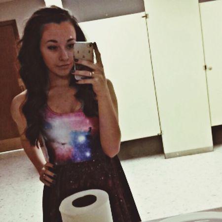Galaxy Selfie Girl