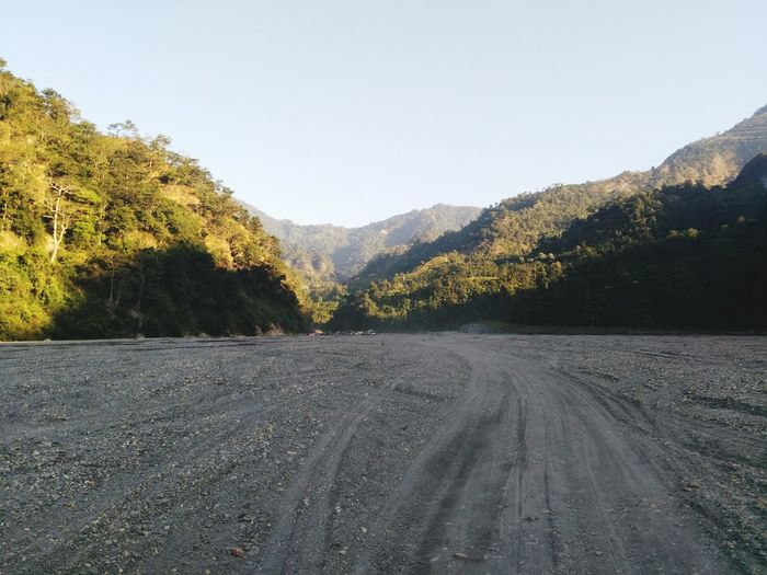 A small part of Indo-Bhutan Border in the morning..