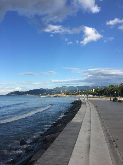 Ordu city coast