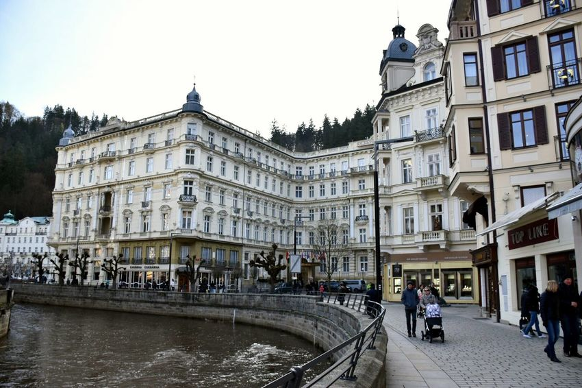 Travel Holiday Hotel Karlovy Vary Old Buildings