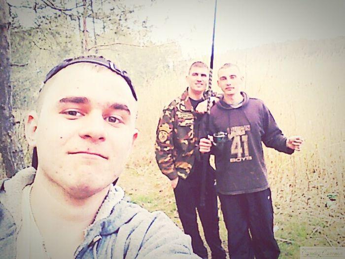На рыбалке)