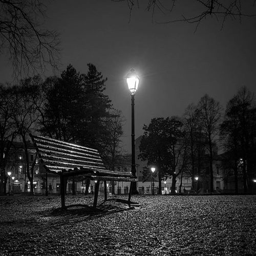 Di sera. Evening Bw Vicenza Giardini Streetlamp Bench Urbanphotography Park Prospective Light Reflections HDR Landscape Ic_hdr Ic_landscapes