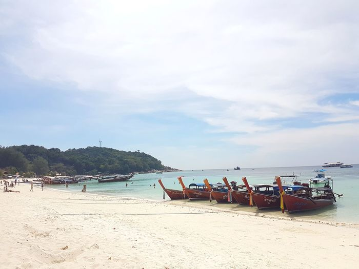 Boats Water Sea