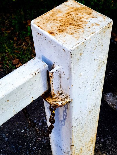 Old Gate Post