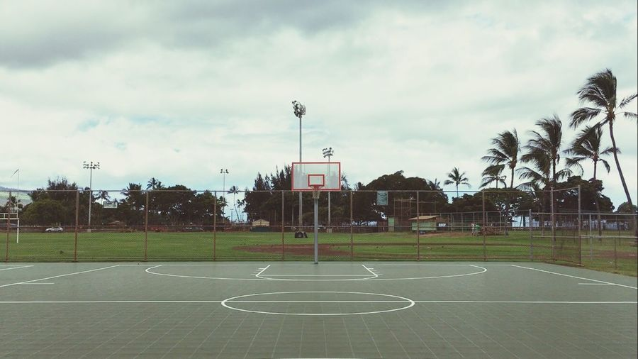 """Heaven Is a Playground"" Kalama Park Kihei Ballislife Basketballneverstop Handlelife Basketball Sport Outdoor Courts"