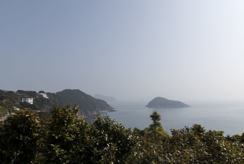 seascape from Jangsado Island in Tongyeong, Gyeongnam, South Korea. Taken with Nikon d850 Nature's Beauty Nikon D850 South Korea Tongyeong Tranquil Tranquility Beauty In Nature Beauty Of Nature Clear Sky Copy Space D850 Day Growth High Angle View Idyllic Island Jangsado Mountain Nature No People Non-urban Scene Outdoor Outdoor Photography Outdoors Outdoors Photograpghy  Plant Scenics - Nature Sea Seascape Seaside Sky Tranquil Scene Tranquility Tranquillity Tree Water