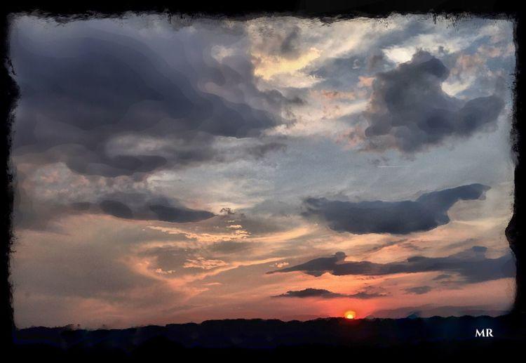 Sunset Sky Mattroedotcom Mattroe Mattroeartist Milford CT Nature IPhoneography