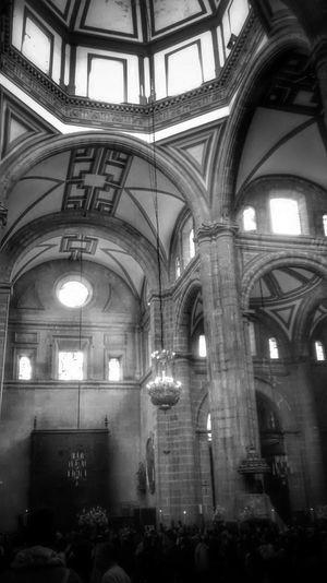 Iglesias Church Mexico City Black & White Arquitectura