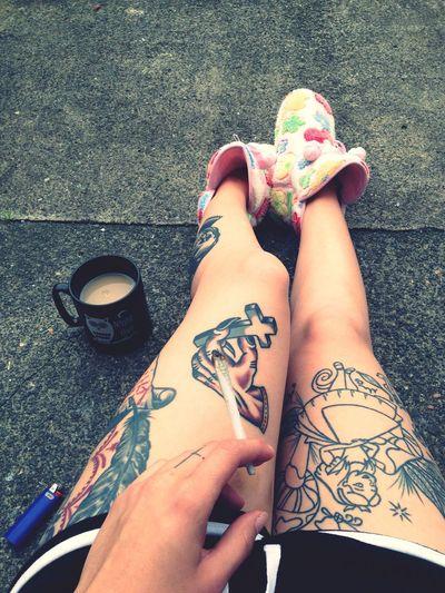 Wake And Bake Tattooed Girls