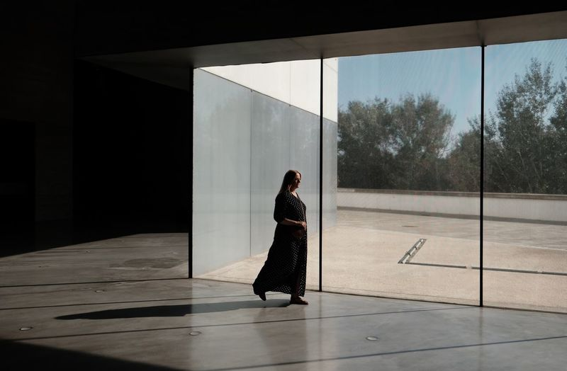 Roadtrip around Andalusia. 4th stop: Cordoba One Person Full Length Architecture Lifestyles Side View Women Walking Glass - Material Tree Reflection Leisure Activity Flooring Streetphotography Street Photography Light And Shadow City Life Shadow And Light Cordoba Spain 17.62° International Women's Day 2019