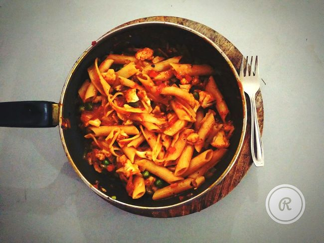 Weekend Dinner Foodphotography Pasta Time Bachelors Kitchen