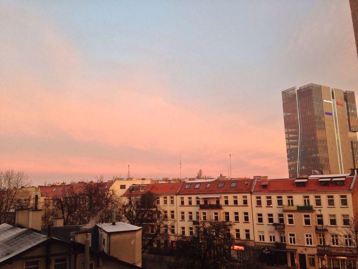 Gdansk (Danzig) Gdansk Goodmorning Sunrise Sun Newday Hello World Poland Sky Light