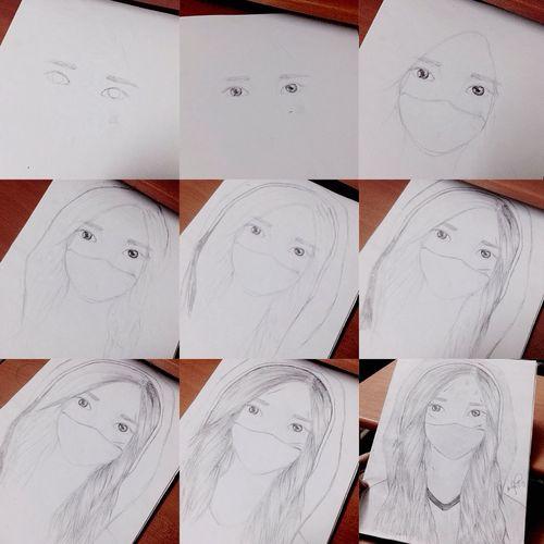 Drawing process 👌 Drawing Sketch Drawing Process