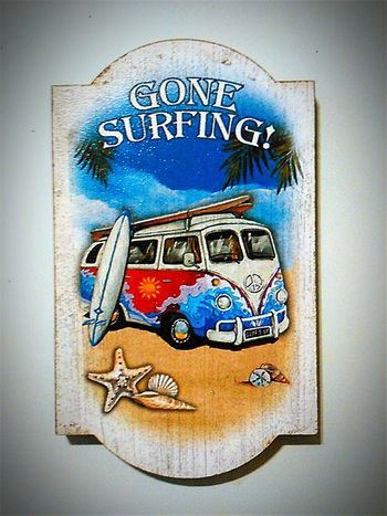 Surf's Up Surfing Surfer Surf Life Surfboard Combi Hang Ten Surf Fridge Magnets Gone Surfing Surfstyle Surferslife Aussies Surfing Life Aussie Surflife Surfers Surfinglife Aussie Summer Surfing ☮ Aussie Life Check This Out Checkthisout VW Gonesurfing