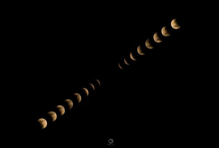 totallunareclipse Total Lunar Eclipse Moon Night Sky Black