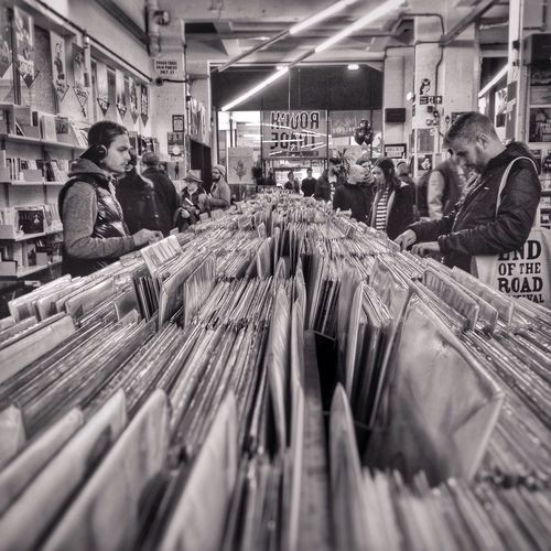London Rough Trade East Shopping Vinyl Records Real People Indoors  Shoreditch