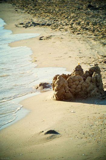 Relaxing Summer Sea Beachphotography Beach Life Sun Water Beach Castle Handmade
