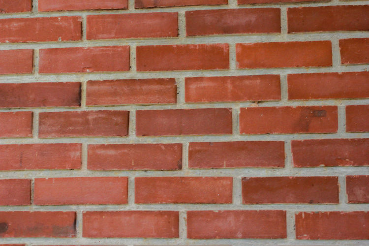 Brick Wall Red Full Frame Backgrounds Brick Wall Wall - Building Feature Architecture Built Structure No People Pattern Textured  Brown Outdoors Repetition Day Shape Design Close-up Building Exterior