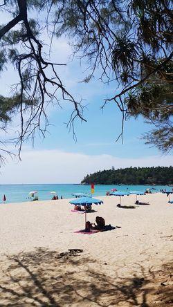 Karon beach...so hot...