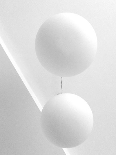 Two White Planets.... Getting Inspired Better Together Smart Simplicity Minimalism Negative Space Interiordesign White Taking Photos Eye4photography  Monochrome