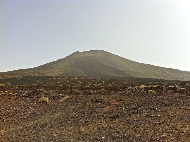 Arid Climate Barren Canary Islands Desert Extreme Terrain Fog Geology Landscape Mountain Mountain Range Non-urban Scene Physical Geography Remote Scenics Teide National Park Tenerife Tranquil Scene Tranquility