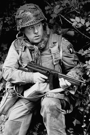 Overlord Airborne Shades Of Grey Paratroopers Reenactment Dday Normandie Soldiers Soldier Airborne All The Way The paratrooper diaries