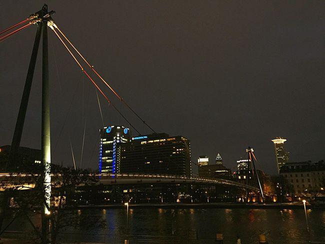 Traveling Frankfurt Germany Nightphotography Landscape