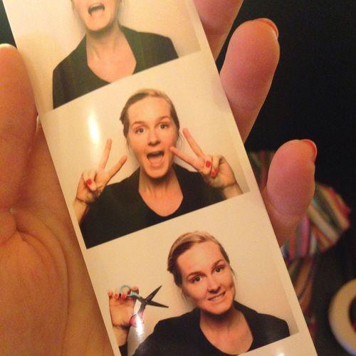 Working event with a photobooth. Selfie Selfportrait Self Portrait Selfie ✌ That's Me Stockholm Stockholm, Sweden Sweden Blonde Love