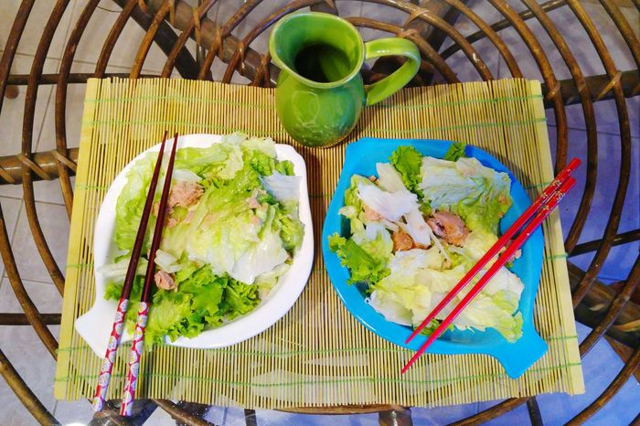 Foodporn Fish Salad Salad Time Food Chopsticks