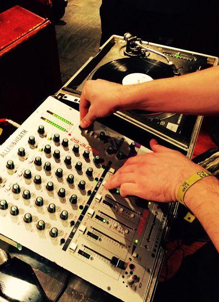 Djing Partying Spinning Vinyl Decks Vinyl Records Turntable Tunes Pub Mixing Records Mixing Sound Music Equipment Music Club Night Hands Hands At Work DJing Djs At Work Dj