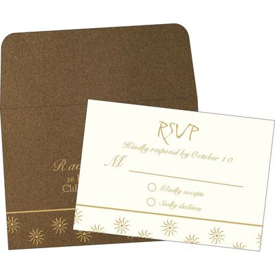 Wedding RSVP Cards | RSVP-1405 | 123WeddingCards 123WeddingCards RSVP Cards RSVP Invitations Wedding Response Cards Wedding RSV Wedding Rsvp Cards
