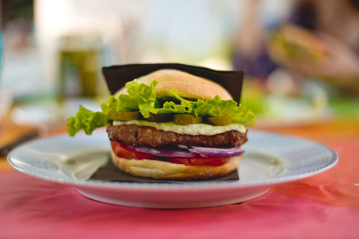 Burger Burger King Burgers Calories CheeseBurger Close-up Focus On Foreground Food Freshness Hamburger Indulgence Mcdonalds Meal New York Burger No People Plate Ready-to-eat Selective Focus Served Serving Size Snack Still Life Tasty Temptation Showcase June