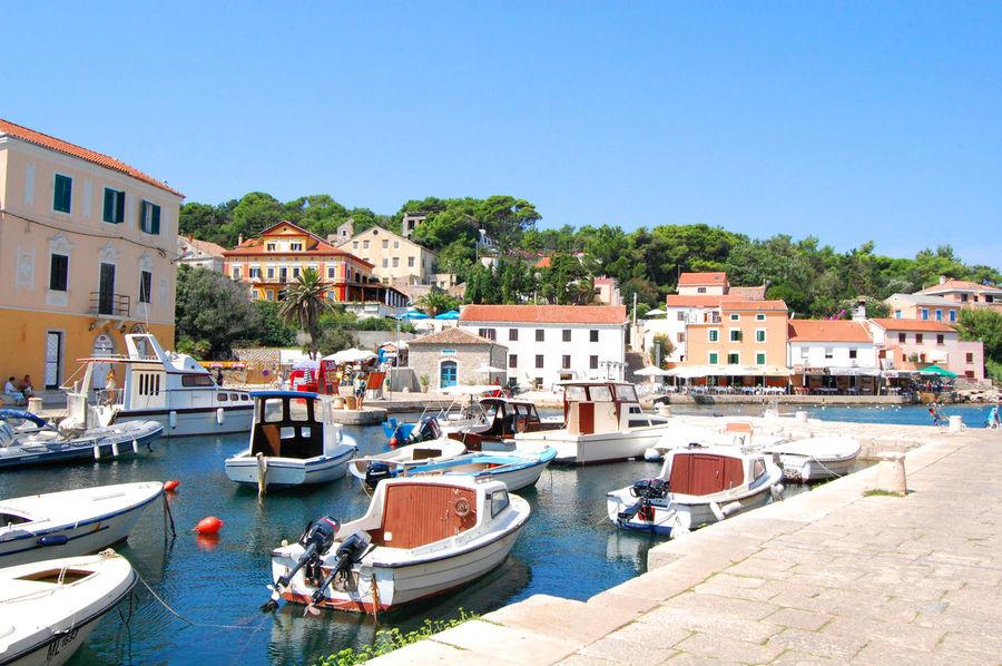 Adria Colored Houses Coratia Croatia Croatia ♡ Fishermen's Life Fishermens Boat Harbor Holiday Idyllic Motorboats Portrait Promenade Sea EyeEmNewHere