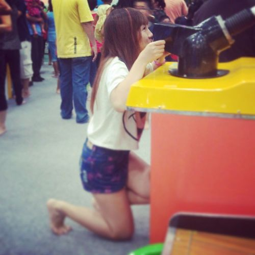 How the-21 yrs-old-girl plays game ㅋㅋㅋㅋㅋㅋㅋㅋㅋ Gamezone Me Feel Excited