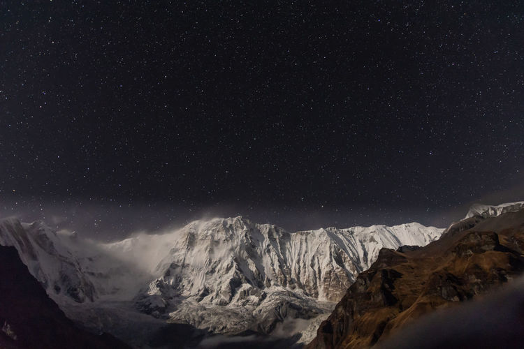 Annapurna 1 and